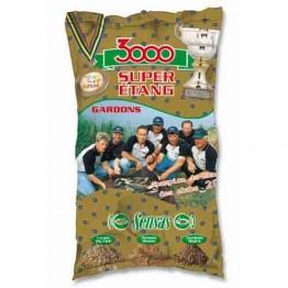 Прикормка Sensas 3000 Super Etang Gardon 1 кг (Плотва)